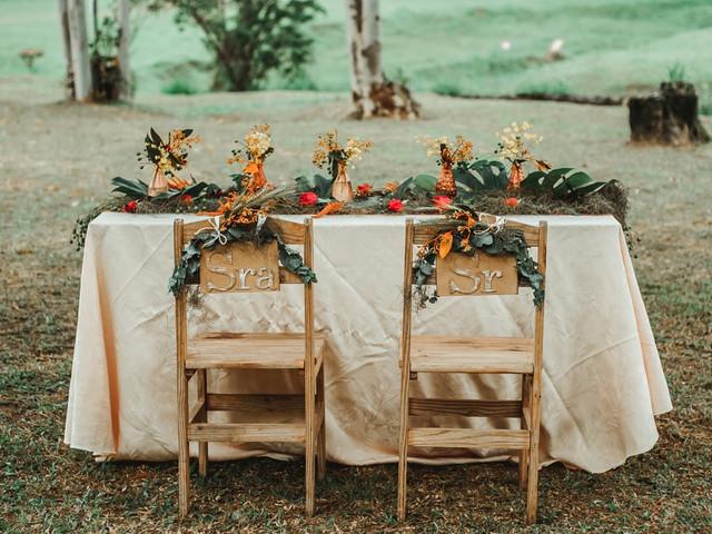 Sweetheart Table: a mesa especialmente preparada para o casal