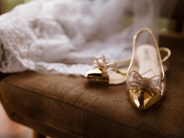 Sapatilhas para noivas: conforto e elegância no mesmo calçado