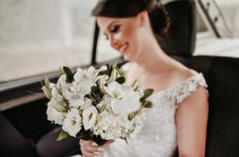 60 Buquês de noiva brancos: todos os tons desse clássico