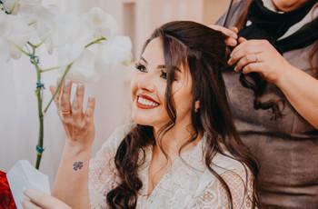 Cuidados para as pontas do cabelo: uma noiva perfeita em cada detalhe