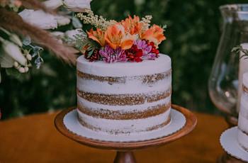 Sabores diferentes para o seu bolo de casamento