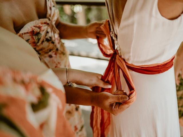 Toques de cor para dar vida ao look da noiva: 10 sugestões para a protagonista!