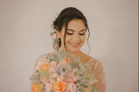 Sombras em tom pastel: ideais para as noivas românticas