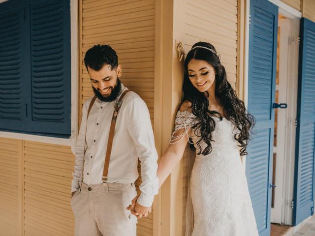 Prepare o lenço para ver 70 imagens do ensaio mais emocionante do casal: o First Look