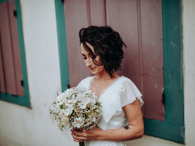 40 Penteados de casamento para cabelos curtos
