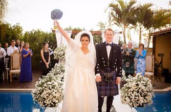 Ideias para celebrar um casamento bilíngue: o amor é um idioma universal!