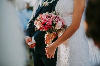 50 Buquês de noiva rosas: romantismo com personalidade