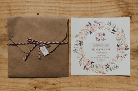 70 Envelopes incríveis para todos os estilos de convite de casamento