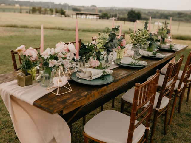 Como organizar as mesas da recepção na nova normalidade?