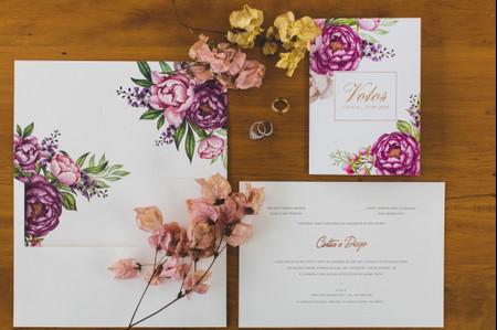 Convites florais: inspiração primaveril para harmonizar com o décor