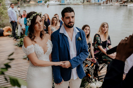 O casamento de Michelle e Fernando: da amizade colorida a todas as cores do amor