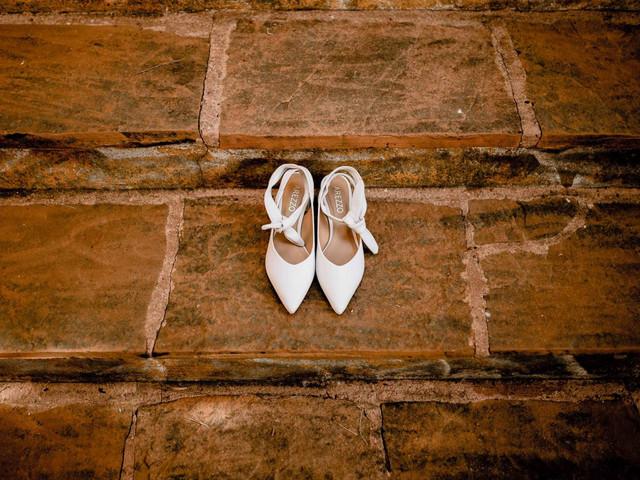 O que fazer com o sapato branco depois do casamento?