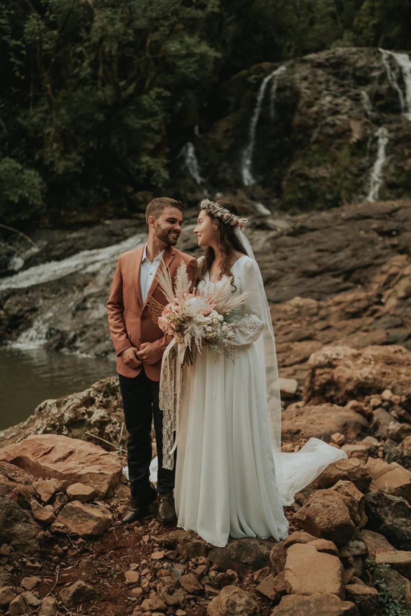 Intimate Wild Wedding