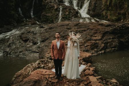 """Você, seu amor e uma cachoeira: que tal fazer de um paraíso o cenário do """"sim""""?"""