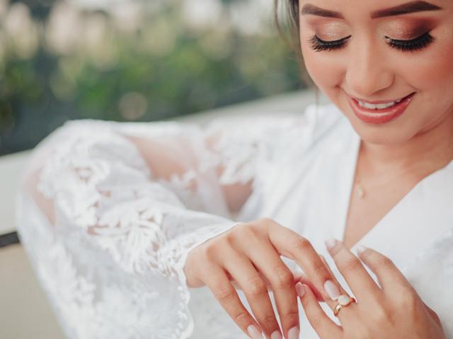 Smokey eyes: uma maquiagem marcante para a noiva