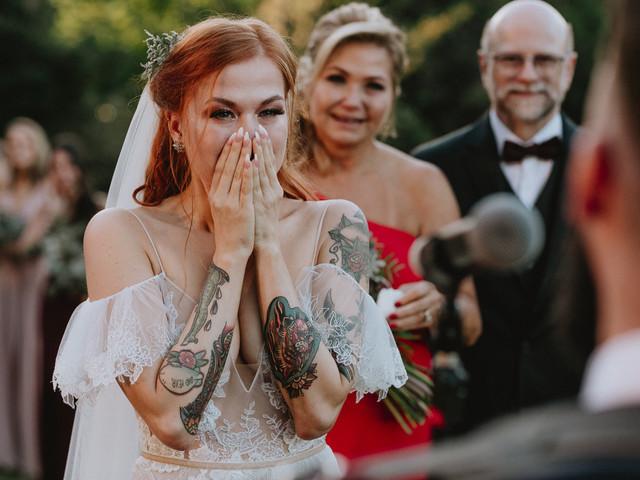 Noivas tatuadas: beleza estampada na pele