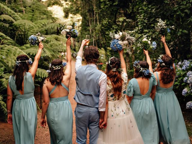 5 Ideias para o casal fazer um brinde original na recepção