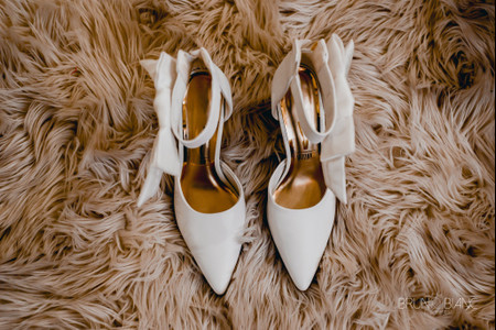 Sapato branco para a noiva: clássico atemporal