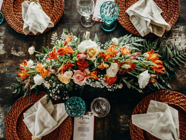 3 Estilos de décor para as mesas da recepção: qual combina com  o seu dia?
