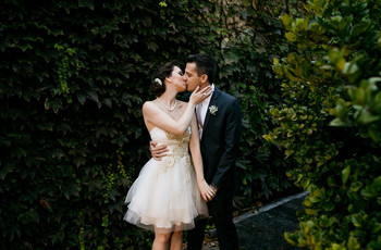 75 Vestidos de noiva curtos para quem deseja apostar por frescor e versatilidade