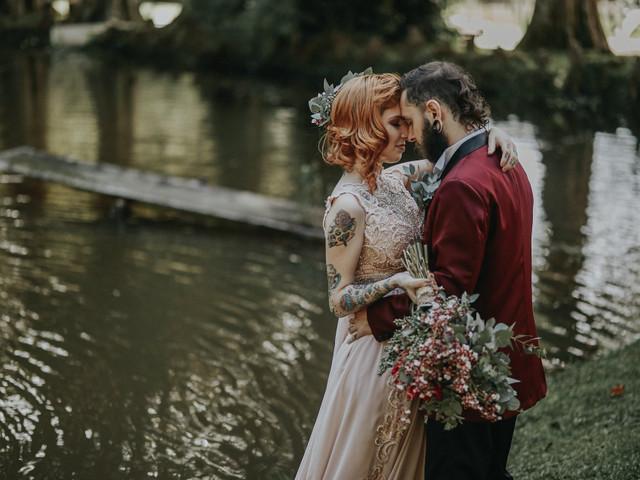 Dicas para os noivos roqueiros estilizarem a sua festa