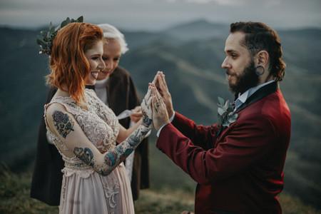 São um casal místico? O casamento pode ter exatamente o seu estilo