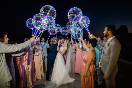 Balões de LED: o brilho que o seu casamento precisa