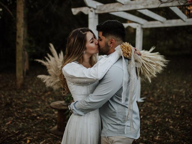 Dicas para as fotos do melhor momento: o beijo do casal!