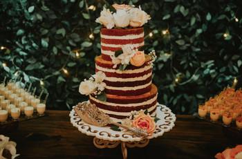 Tendências de bolos de casamento para 2020