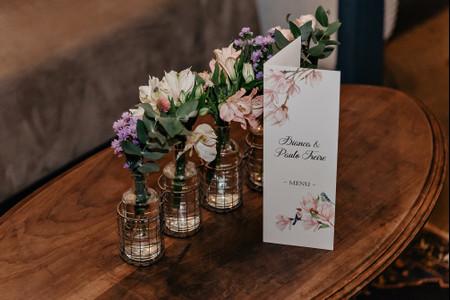 70 Centros de mesa ideais para casamentos rústicos: inspirem-se