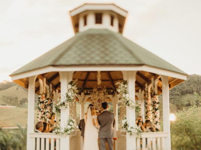 5 Cuidados ao investir em um gazebo para a celebração de casamento