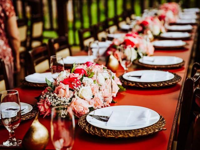 Como distribuir os convidados em uma mesa imperial