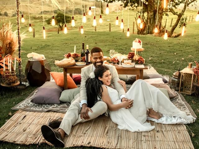 9 Vantagens de um casamento ao ar livre: uma tendência que vem para ficar