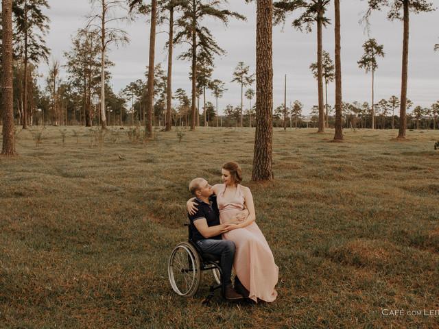 Inclusão em primeiro lugar: noivos e convidados cadeirantes no casamento