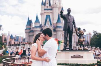 Lua de mel na Disney: um mundo mágico com o seu amor