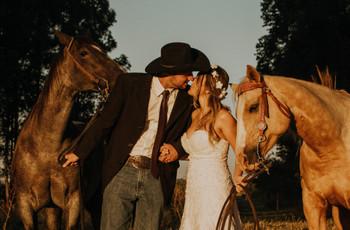 Deixe os convidados de boca aberta com a sua entrada à cavalo: 6 dicas de ouro