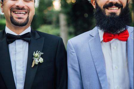 Vamos iguais ou diferentes? As opções mais charmosas para o look de casais homoafetivos