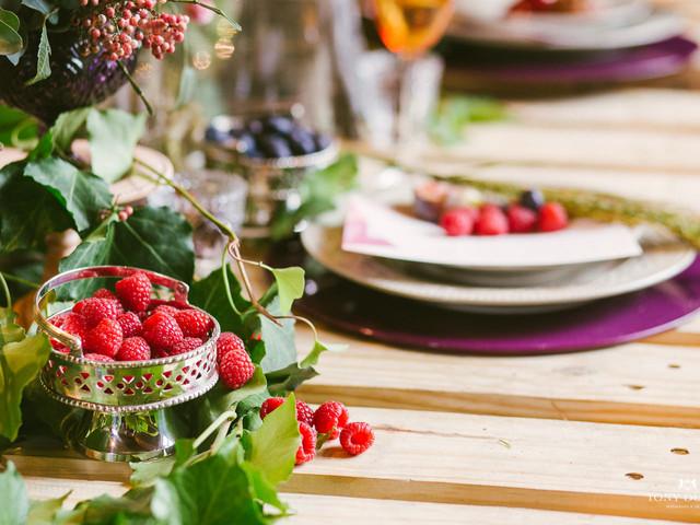 10 Ideias bem originais para o menu do seu casamento