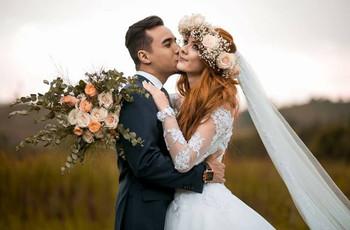 Acessórios naturais: o complemento perfeito para os penteados de noiva