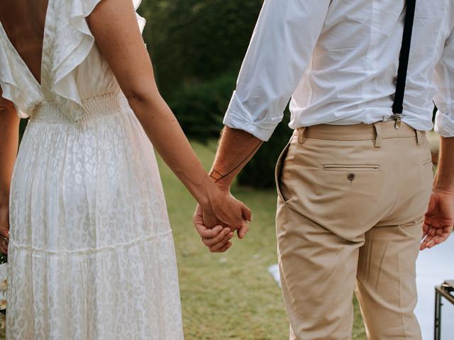 Casar-se no domingo. Descubram as vantagens!