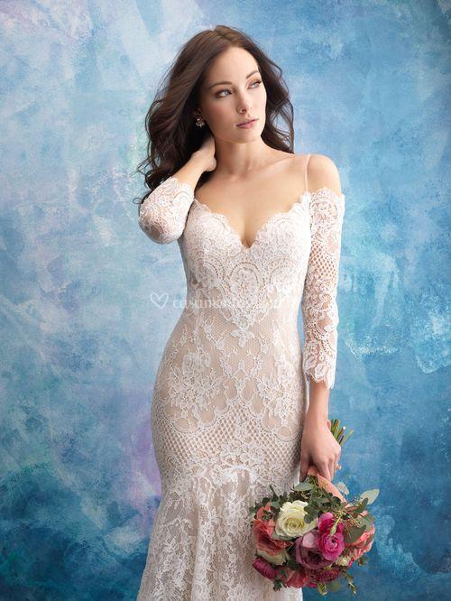 9551, Allure Bridals