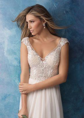 9563, Allure Bridals