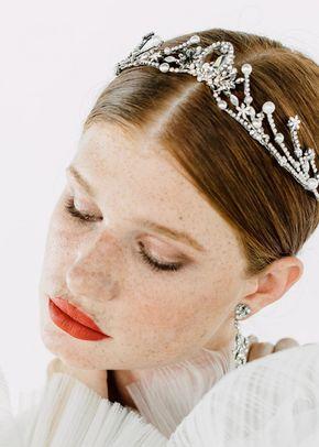 BRIDGERTON CROWN, Maria Elena Headpieces