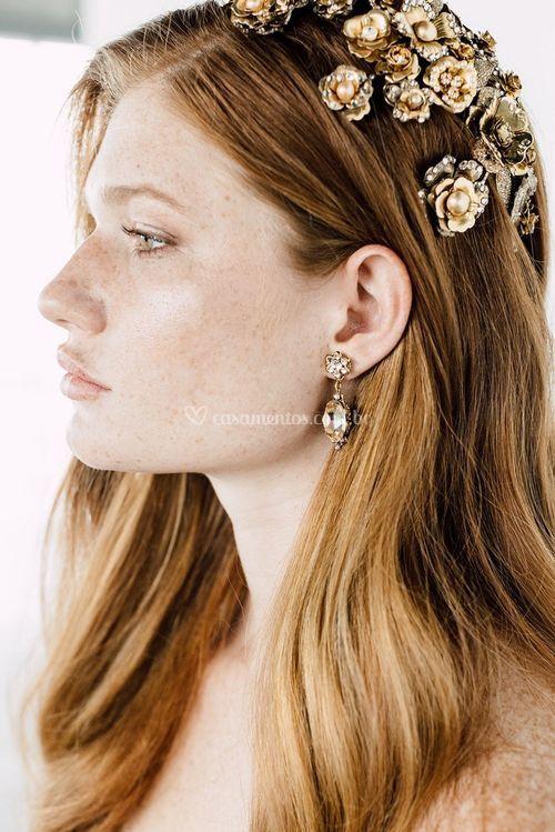 SADIE EARRINGS, Maria Elena Headpieces