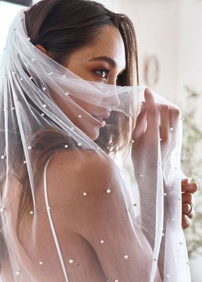 pearly long veil, 78