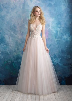 9557 , Allure Bridals