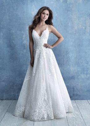 9718, Allure Bridals