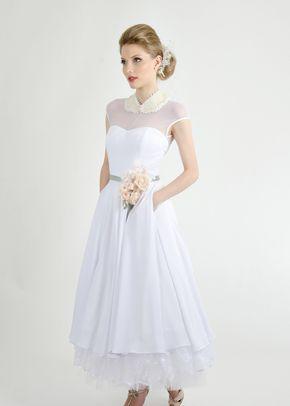 Vestido Adele Ref990180, Pó de Arroz