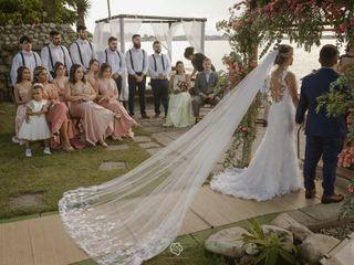 O casamento de Yulli  e Giovane 1