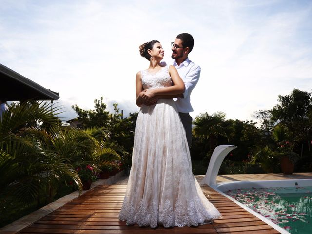 O casamento de Luma e Airton